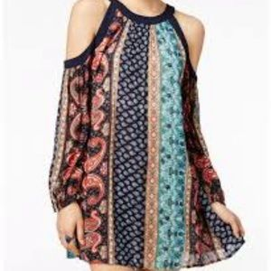American Rag Paisley Multi Color Dress